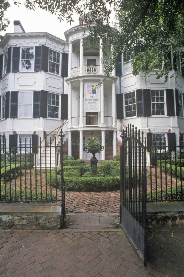 Nicholas Ware Mansion, Augusta, Georgia stockbilder