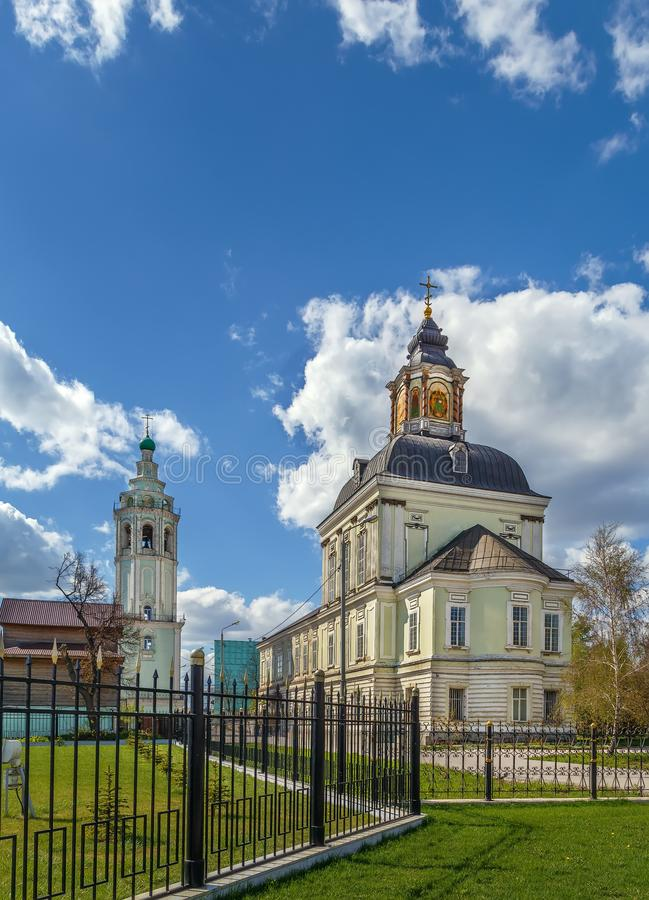 Nicholas-Zaretsky Church, Tula, Russia royalty free stock photos