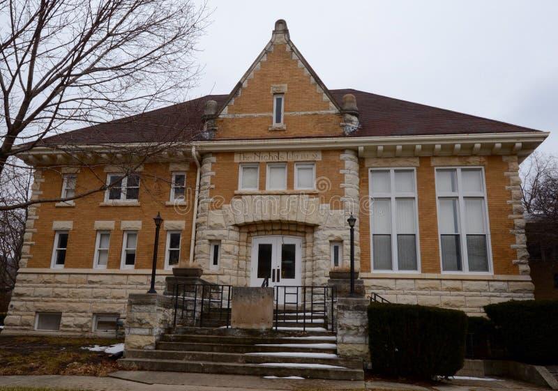 Nichols biblioteka zdjęcie royalty free