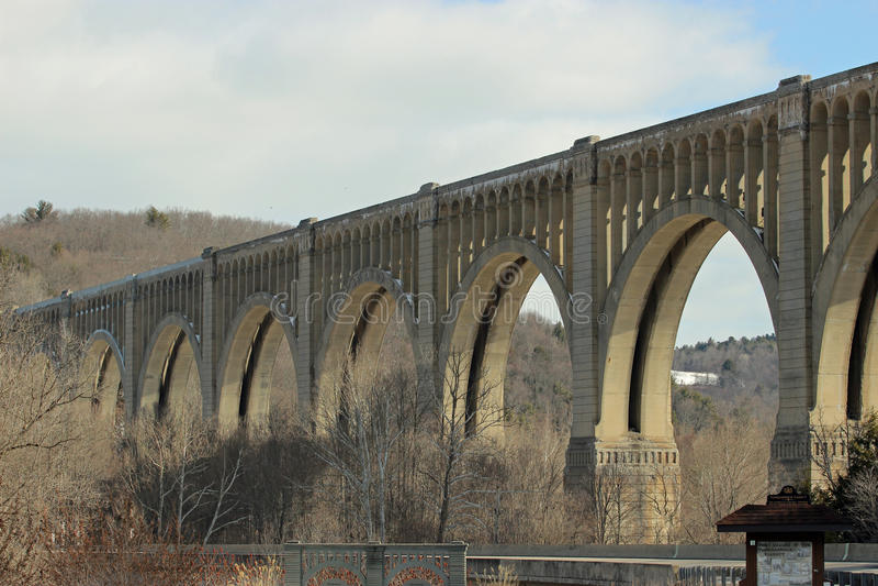 Nicholson Bridge arkivfoto