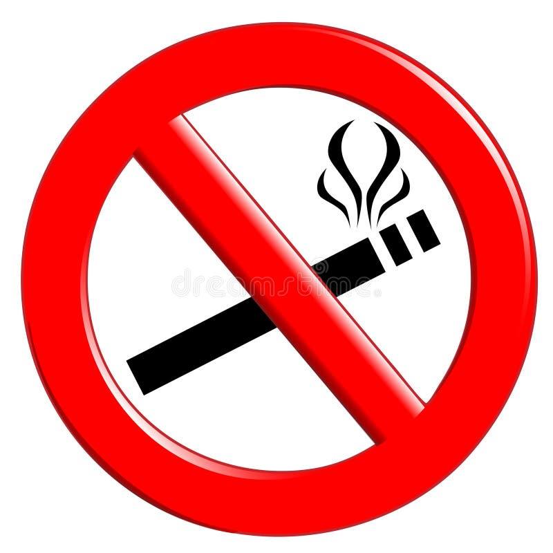 Nichtraucher stock abbildung