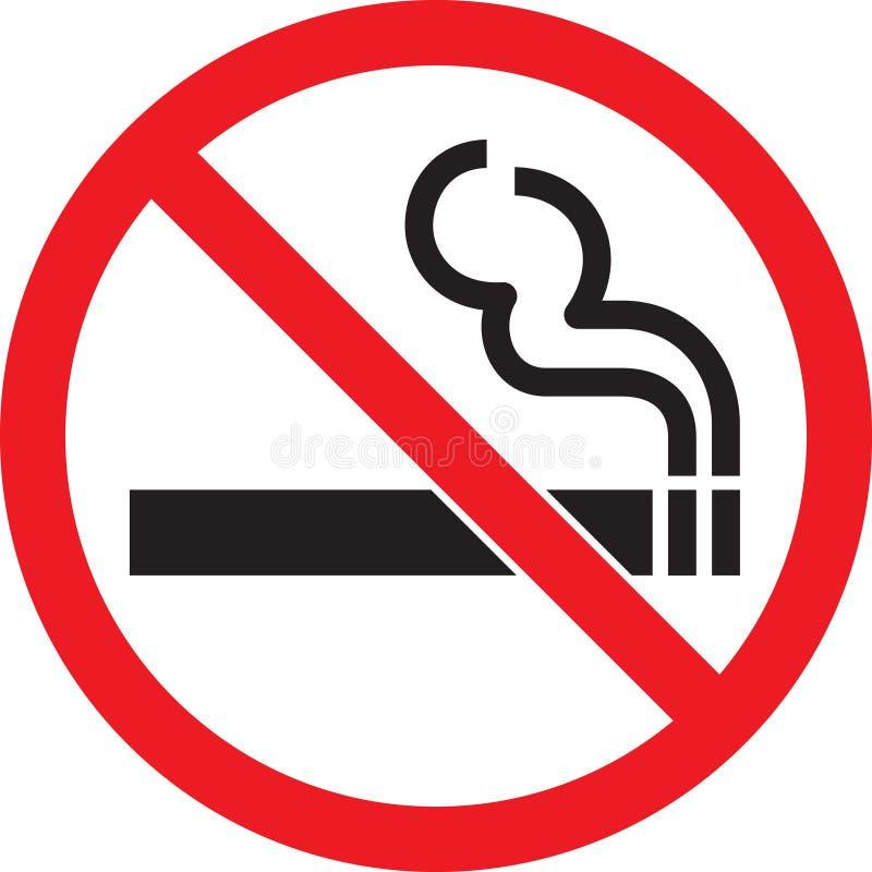 Nichtraucher lizenzfreie abbildung