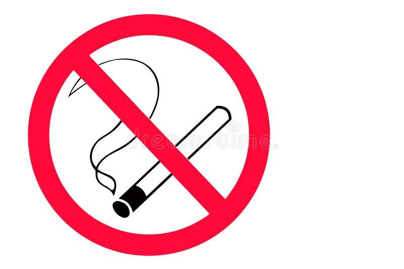 Nichtraucherzeichen stockfotografie