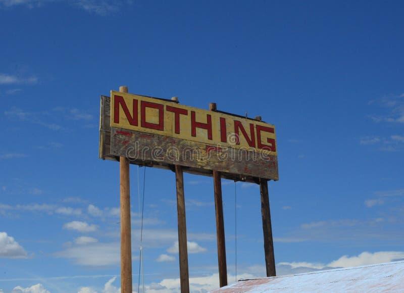 Nichts stockbild