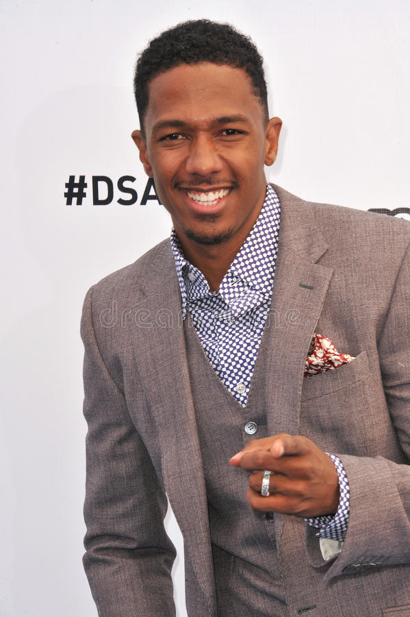 Nick Cannon. At the 2012 Do Something Awards at Barker Hangar. Santa Monica Airport. August 19, 2012 Santa Monica, CA Picture: Paul Smith / Featureflash royalty free stock photography