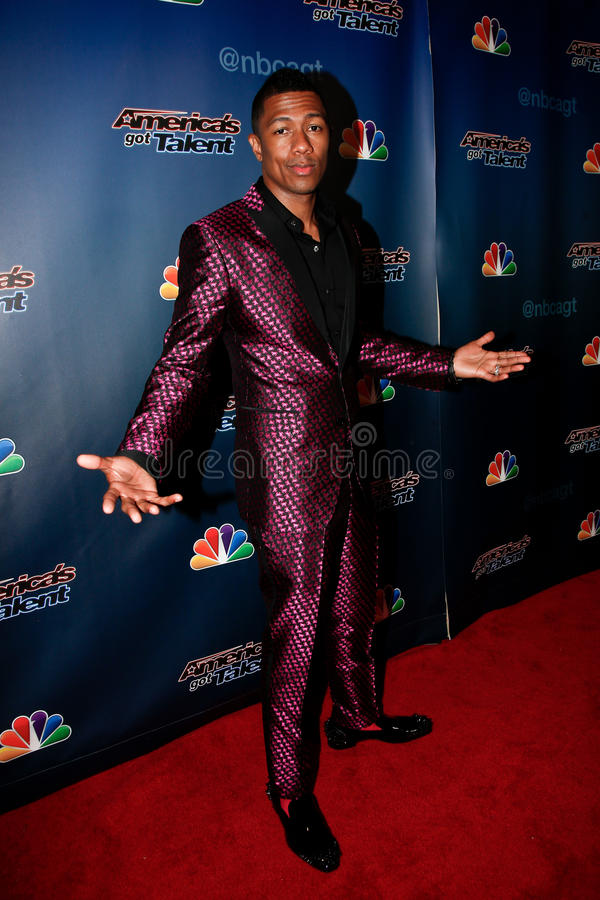 Download Nick Cannon editorial stock image. Image of cannon, radio - 43813984