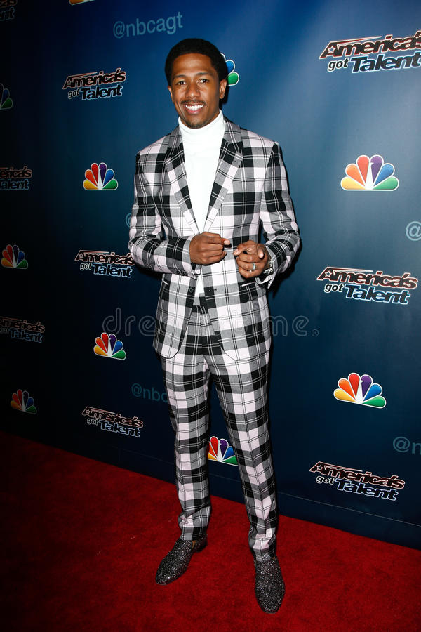 Download Nick Cannon editorial photo. Image of hall, attends, show - 43042626