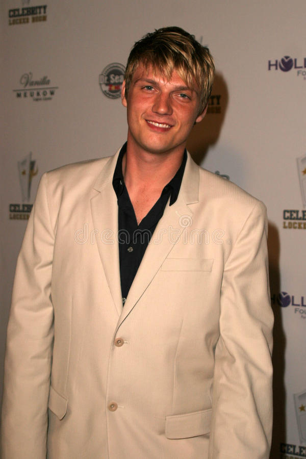 Nick Carter. At 'An All Star Night At The Mansion' charity event, Playboy Mansion, Holmby Hills, Los Angeles, CA 07-11-06 stock images