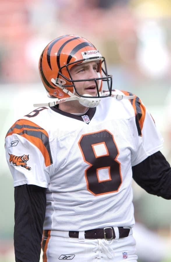 Nick Harris. Cincinnati Bengals punter Nick Harris. (Image taken from color slide royalty free stock photo