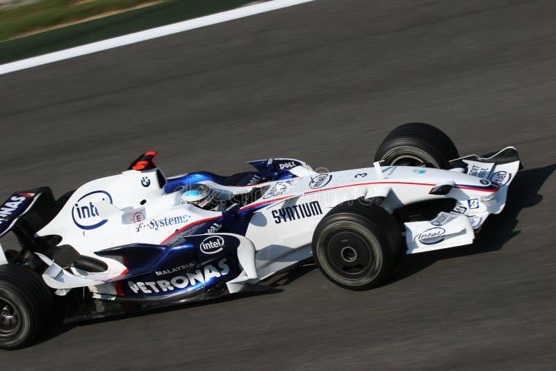 Nick Heidfeld sur F1 photographie stock