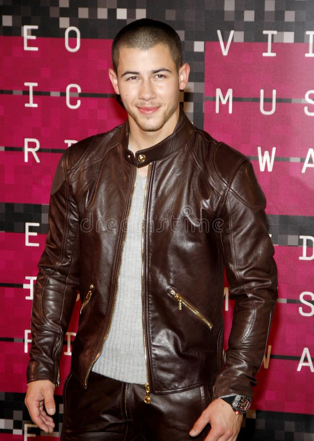Nick Jonas image stock
