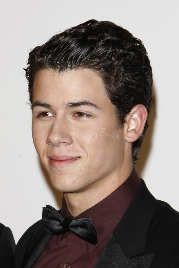 Nick Jonas image libre de droits