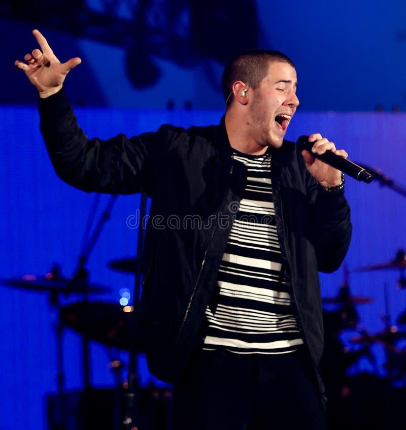 Nick Jonas photographie stock