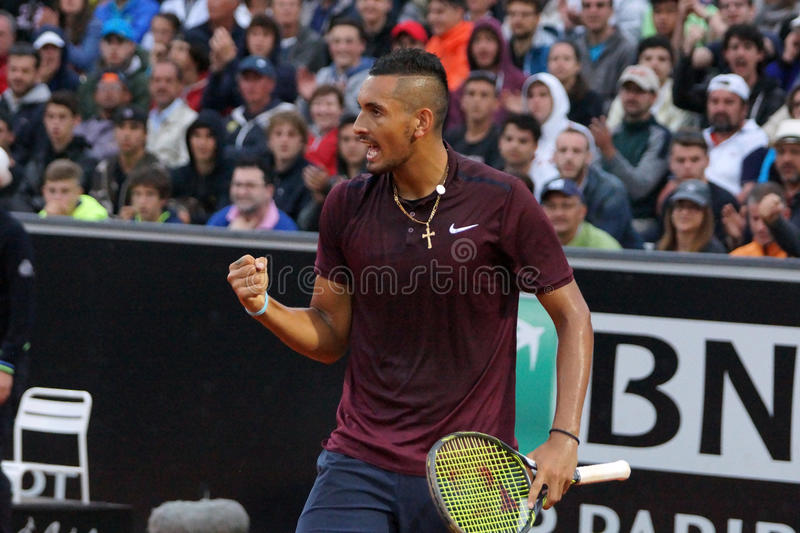 Nick Kyrgios (AUS) photographie stock