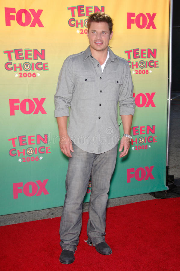 Nick Lachey. Singer NICK LACHEY at the 2006 Teen Choice Awards at Universal City, Hollywood 20AUG2006 Los Angeles, CA 2006 Paul Smith / Featureflash stock photo