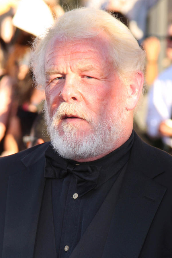 Nick Nolte. At the 18th Annual Screen Actors Guild Awards Arrivals, Shrine Auditorium, Los Angeles, CA 01-29-12 royalty free stock photography