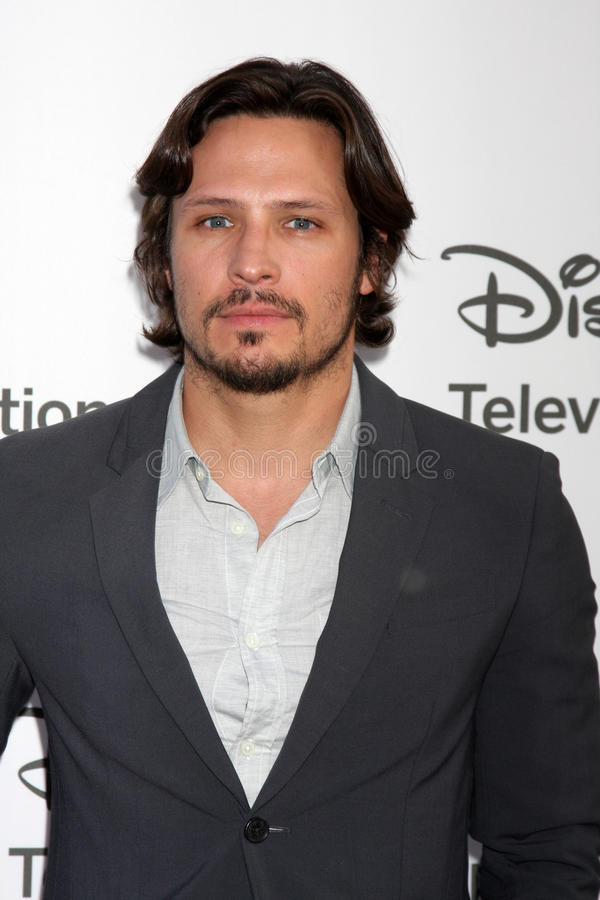 Nick Weschsler Arrives At The ABC / Disney International Upfronts Editorial Stock Image