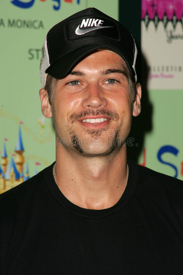 Nick Zano. At the unveiling of the limited edition Disneyland 50th Collection, Fred Segal, Santa Monica, CA 07-13-05 stock images
