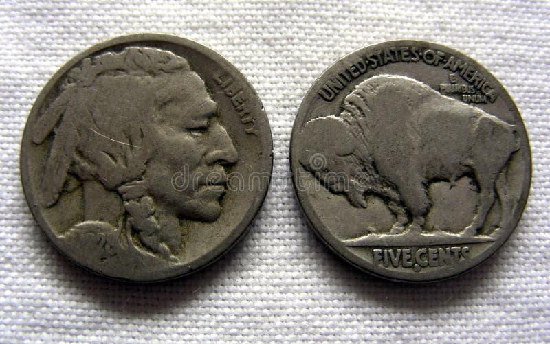 Nickel de Buffalo photo stock