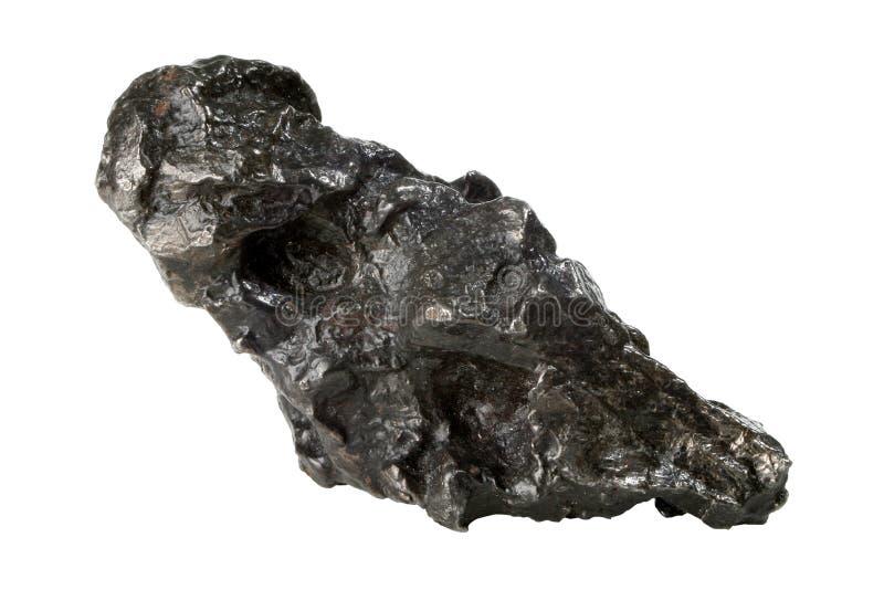 Nickel-Eisen-Meteorit stockbilder