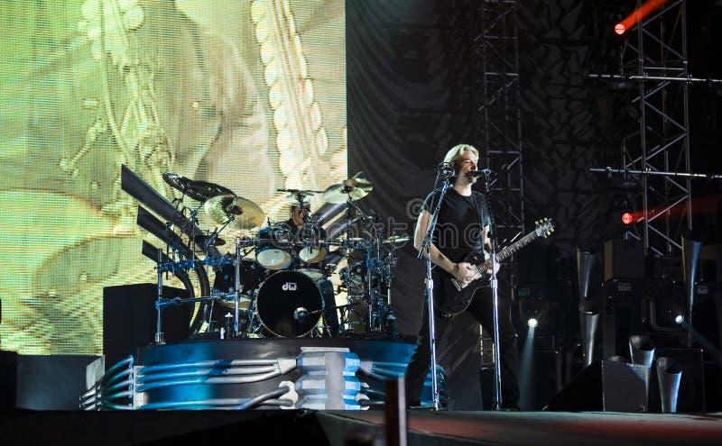 Nickelback Band stockfotografie