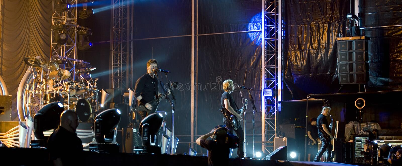 Nickelback zespół obrazy royalty free