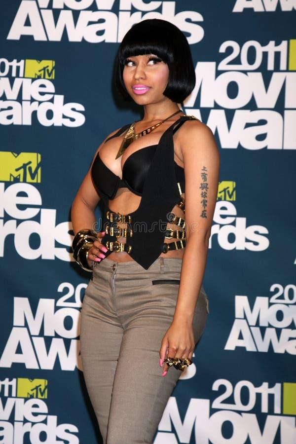 Nicki Minaj foto de stock royalty free