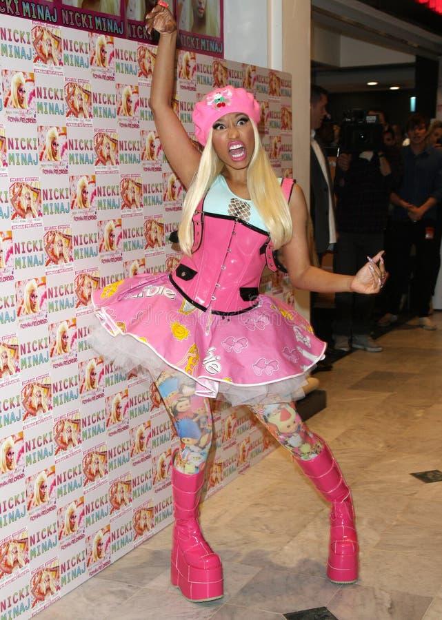 Nicki Minaj imagem de stock