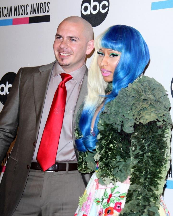 Nicki Minaj, Pitbull imagenes de archivo