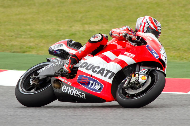 Download Nicky Hayden editorial stock photo. Image of compete - 21958398