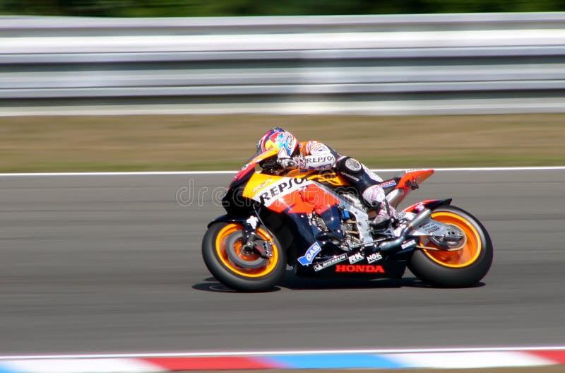 Nicky Hayden - Repsol Honda lizenzfreie stockbilder