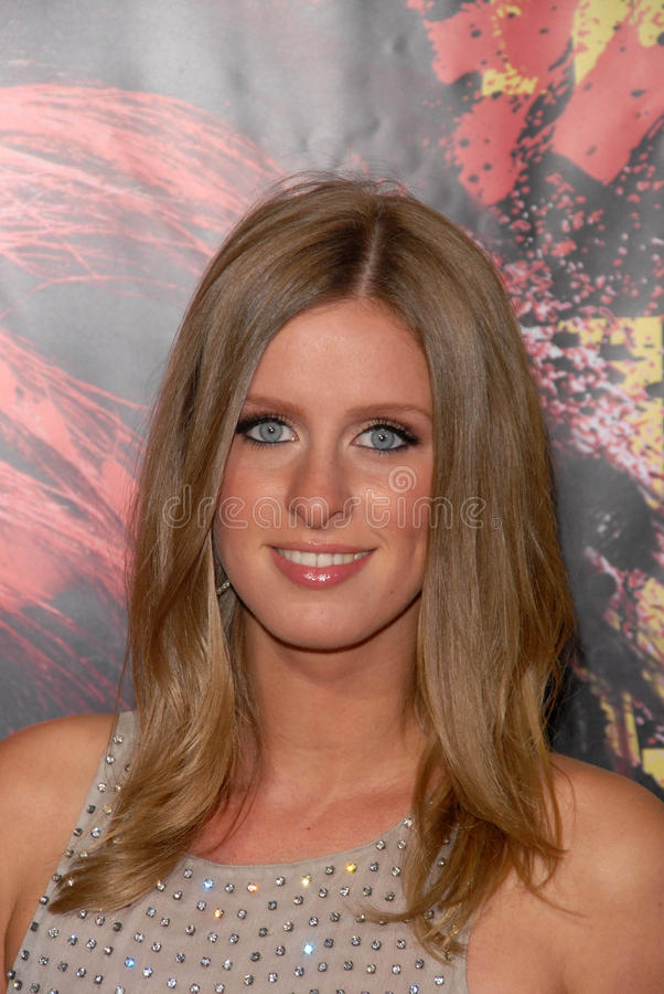 Download Nicky Hilton editorial photography. Image of nicky, hollywood - 25685522