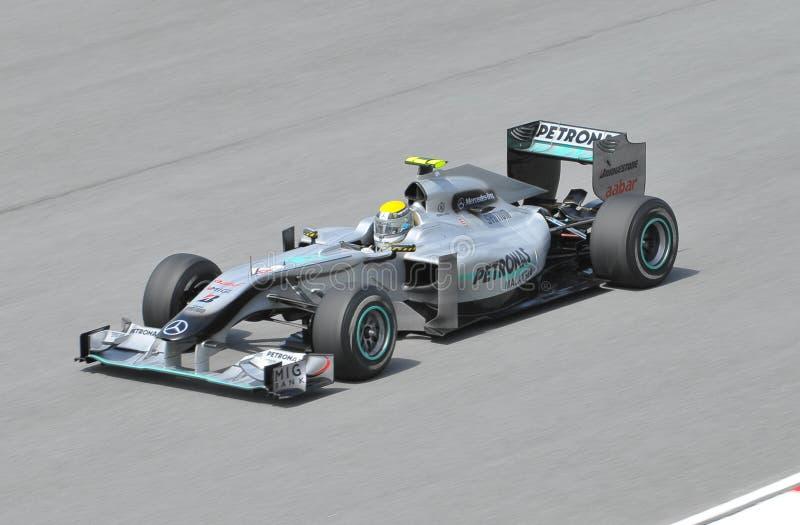 Nico Rosberg lizenzfreie stockbilder