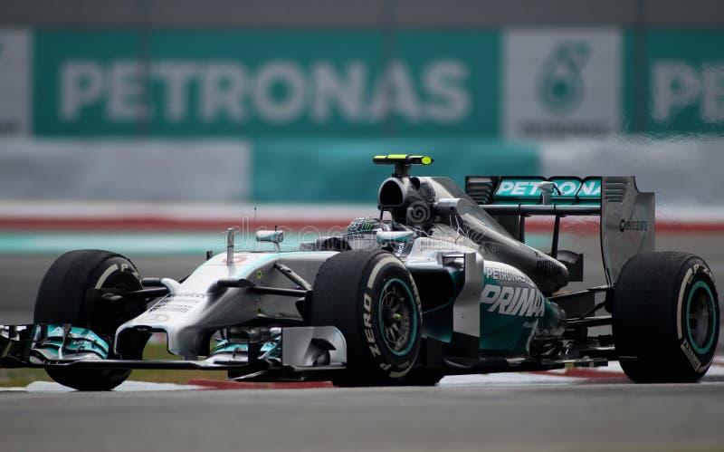 Nico Rosberg von Mercedes lizenzfreies stockfoto