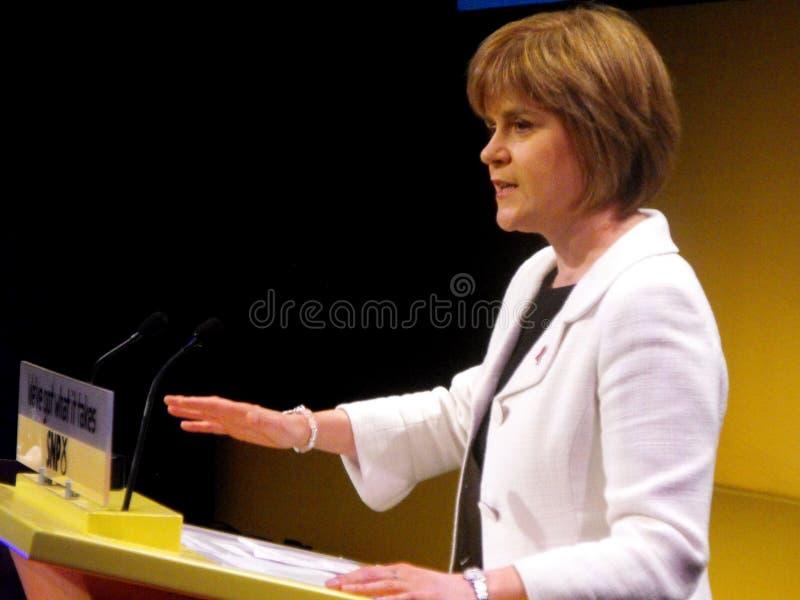Nicola Sturgeon, Scottish Health Minister stock photos