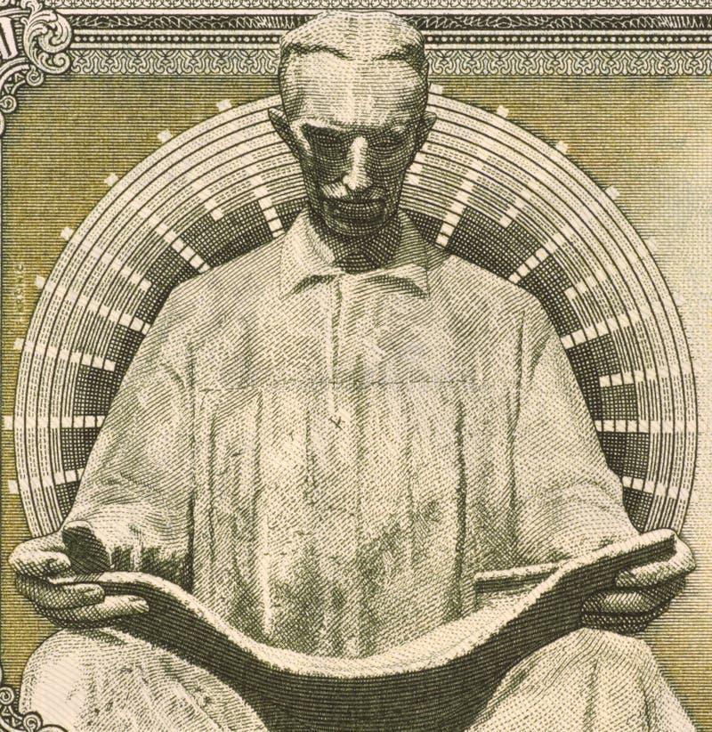 Nicola Tesla fotografía de archivo