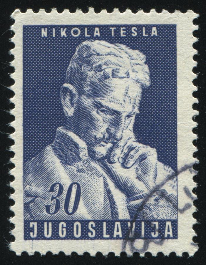 Nicola Tesla fotografía de archivo libre de regalías
