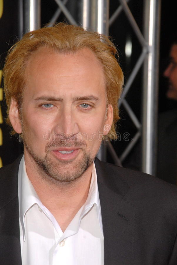 Nicolas Cage. At the Kick-Ass Los Angeles Premiere, Arclight Theater, Hollywood, CA. 04-13-10 stock photography