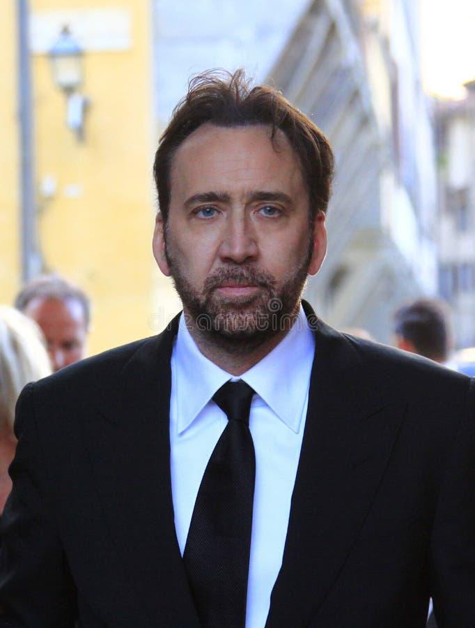 Nicolas Cage στοκ εικόνα με δικαίωμα ελεύθερης χρήσης