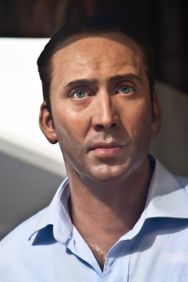 Nicolas Cage - wax statue