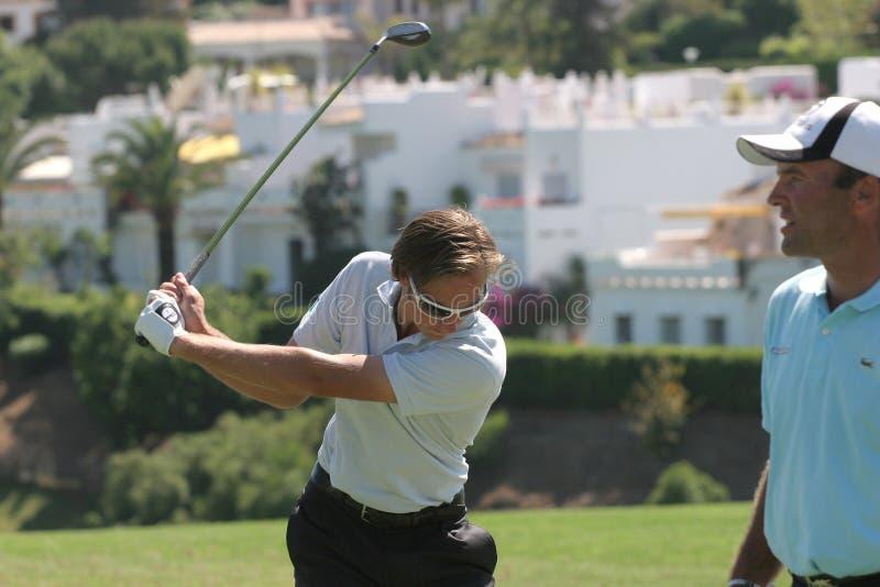 Download Nicolas Colsaerts, Golf Open De Andalucia 2007 Editorial Photo - Image: 4364811