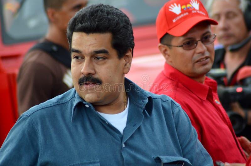 Nicolas maduromoros diktator av Venezuela arkivfoton