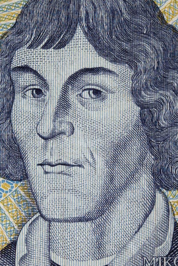 Nicolaus Copernicus, astrónomo imagem de stock