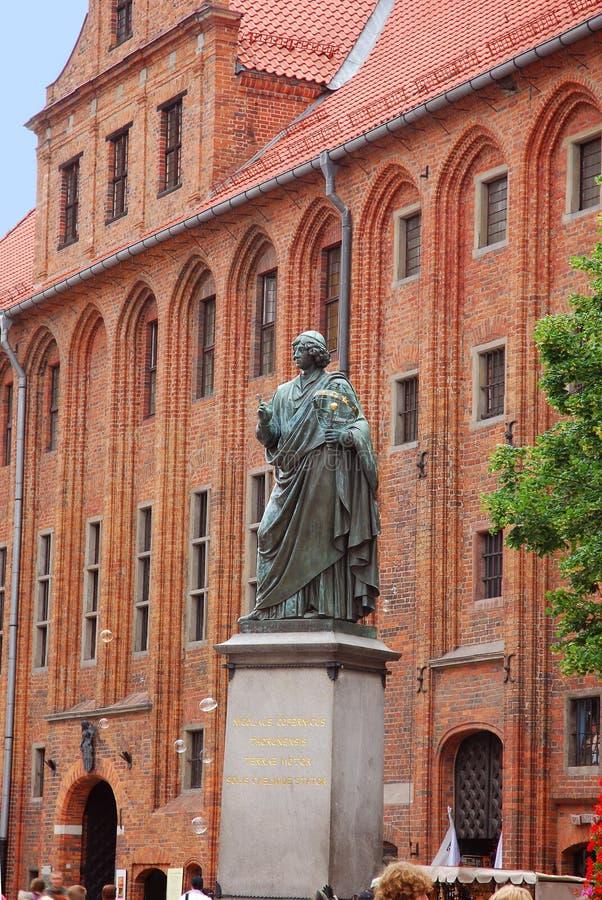 Free Nicolaus Copernicus Monument In Torun Stock Image - 15256211
