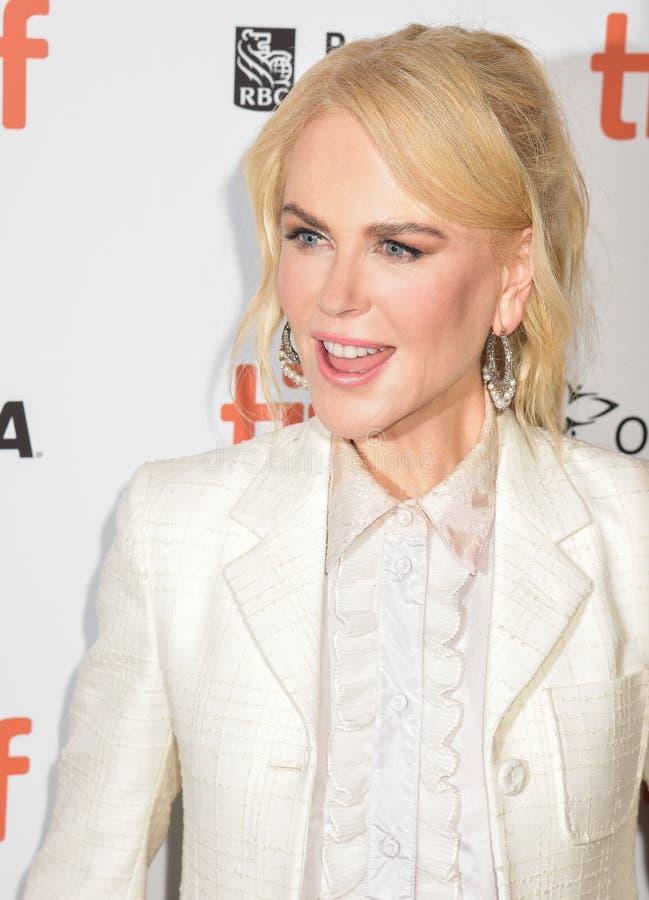 Nicole Kidman à la première de film du ` de destroyer de ` au festival de film international de Toronto 2018 photographie stock