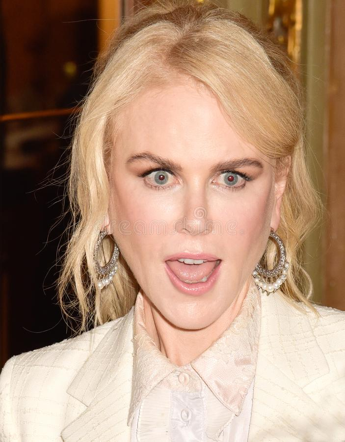 Nicole Kidman at the film premiere of `Destroyer` at Toronto International Film Festival 2018 royalty free stock photos