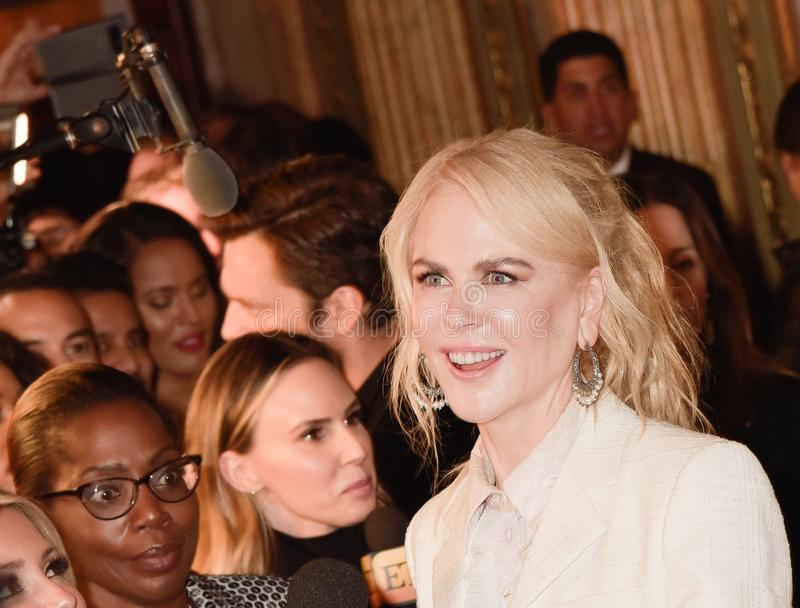 Nicole Kidman at the film premiere of `Destroyer` at Toronto International Film Festival 2018. Actress Nicole Kidman at the film premiere of `Destroyer` at royalty free stock photo