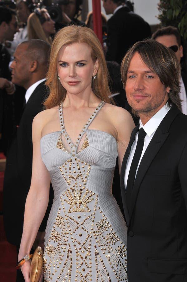 Nicole Kidman, Keith Urban fotografia de stock royalty free