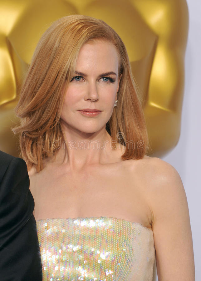 Nicole Kidman. LOS ANGELES, CA - FEBRUARY 22, 2015: Nicole Kidman at the 87th Annual Academy Awards at the Dolby Theatre, Hollywood royalty free stock images