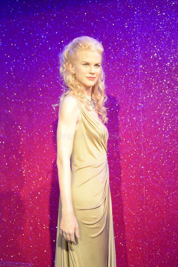 Nicole Kidman - Salão das celebridades fotografia de stock